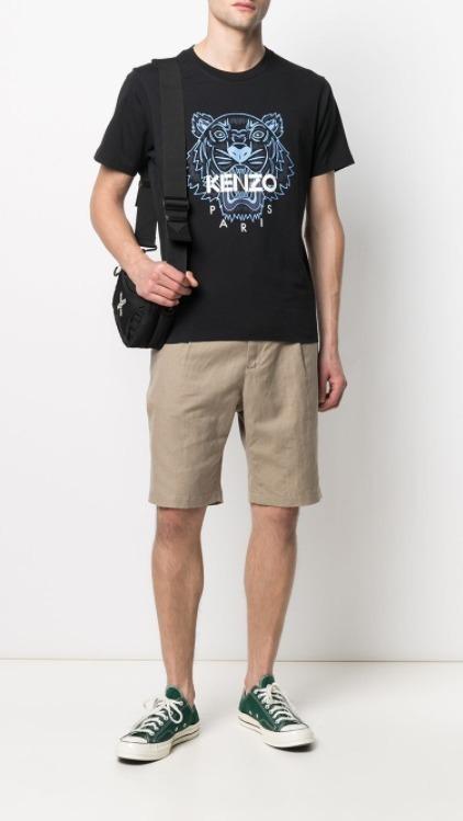 クラシックタイガーロゴ コットンTシャツ